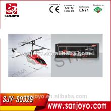 S032G Syma 3 CH CON Construido en GYRO Matel R / C Helicopter
