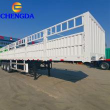 3 axles Fence Cargo semi-trailer 40t-50t