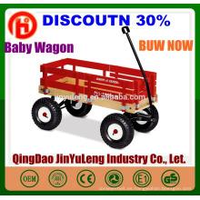 bebé niños, niños, cuatro ruedas carro de madera, carro plegable, herramienta, carro, aire libre, el parque de la playa