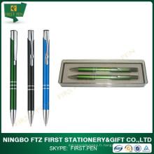 Ensemble cadeau à stylo professionnel avec boîte en plastique