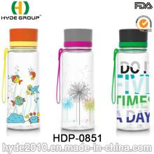 Botella de agua de Tritan de Aladdin de 800ml, plástico beber botella (HDP-0851)