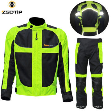 Motorcycle Jacket Reflective Waterproof Protective Customize Motogp Racing Suit Motorcycle Suit Leather Racing Pant