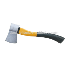 carbon steel digging tools axe head with handle