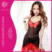 Mix Color Sexy Underwear with T-Back /Transparent Female Sexy Lingerie (BD006)