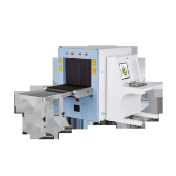 X Ray Airport Baggage Scanner Machine 8mm Steel for Security Inspection