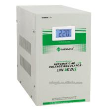 Regulador / estabilizador de voltaje purificado preciso de la serie de la sola fase de Jjw-3k