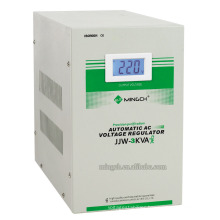 Customed Jjw-3k Single Phase Series Precise Purified Voltage Regulator/Stabilizer