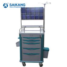 Trole médico dos cuidados da medicina da ambulância clínica do hospital do ABS SKR-AT822