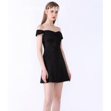 Off-shoulder Short Sleeve Sexi ElegantElegant Strapless Dresses