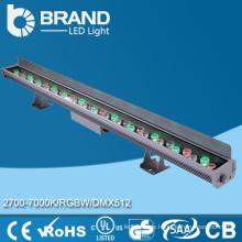 Hohe Helligkeit IP65 36w RGB LED Wand-Unterlegscheibe 36 * 1w
