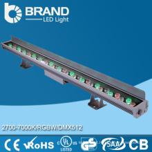 Alta luminosidade IP65 36w RGB LED parede arruela 36 * 1w