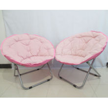 Pink moon chair,moon shape bar chair