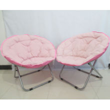 Pink moon chair,moon shape bar chair