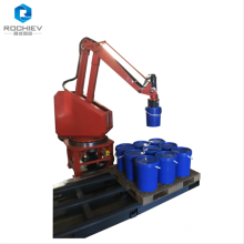 Palletizing Machine with Robotic Arms