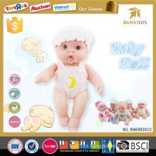 9 bebés renacidos del silicón suave del cuerpo lleno de la muñeca de la pulgada para la venta