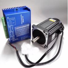 Bipolar 2 fases circuito cerrado nema34 sistema de motor paso a paso 6.0A 8.5Nm
