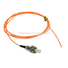 FC connector simplex multimode fiber optic pigtail with single connector fiber cable pigtail