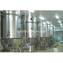 Manufacturer Supplier fluidized bed granulator for pharmaceutical industry
