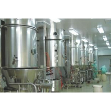 FL Cocoa Powder Processing Fluidized Bed Granulator / Fluid Bed Coater