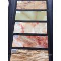 Moisture-proof pvc artificial marble lines hotel decor line