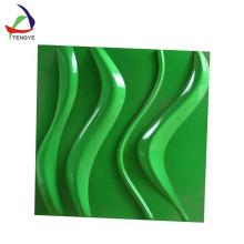 nuevo diseño 3d panel de pared de vacío formando productos de plástico
