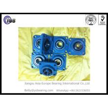 Rolamento de esferas de bloco de travesseiros Ucf217 para máquinas de alimentos