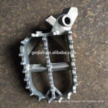 Investment casting carbon steel bicycle pedal