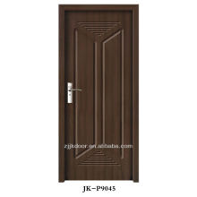 2013 popular porta design china pvc porta de madeira