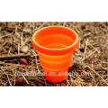 Fire Maple FMP-319 Orange Outdoor Camping Travel Portable folding water cup Silicon Mug
