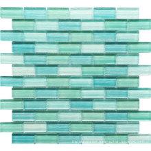 Pool Crystal Glass Mosaic Tile for Bathroom Walls