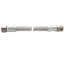 manguera de plomería de acero flexible de alambre de acero de pvc de metal