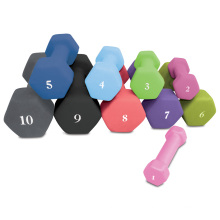 1lb to 15lb Weight Lose Gym Exercise Hexagon Neoprene Dumbbell