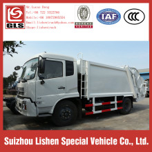 12m3 Garbage Compactor Truck Dongfeng Refuse Transportation