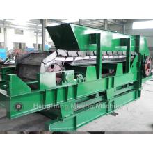 Alimentador de delantal de uso minero para procesamiento de minerales