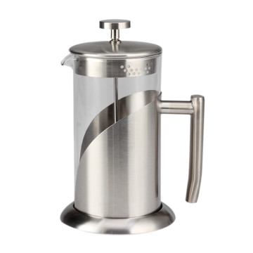 Classic Glass French Press Kaffeekanne mit robuster Basis