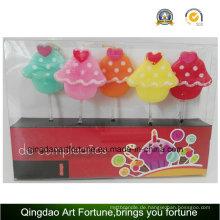 Heißer Verkaufs-Geburtstag und Partei-Kerze-Süßigkeit-Form