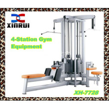 4-station Multi Gym Equipment / 2014 Hot sale integrated gym equipment/ best selling fitness equipment