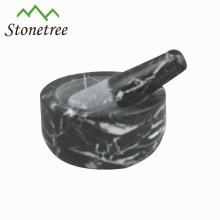 Broyeur de mortier et pilon de vente chaude de cuisine en pierre de cuisine de granit