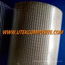 Grillage en fibre de verre 55GSM avec PET pour mur de construction