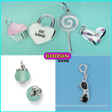 Custom Wholesale Cheap Lovely Silver Jewelry Necklace Pendant