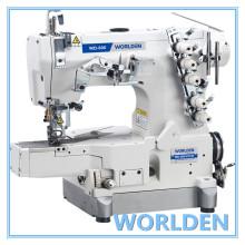 Máquina de costura de bloqueio do cilindro-cama WD-600-01CB alta velocidade