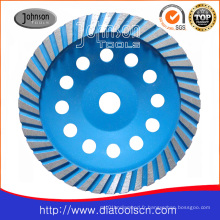 180mm Diamond Turbo Cup Wheel pour Stone
