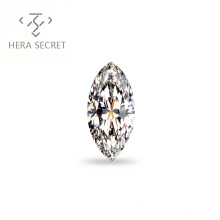 ForeverFlame  G H Marquise Cut EYE 11ct diamond CVD CZ Moissanite huge diamond  jewelry women