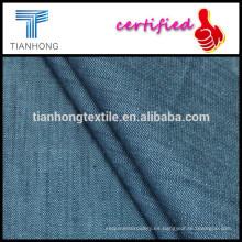 tela del spandex/del algodón del spandex/tencel spandex/skinny jeans tela cruzada tela del dril de algodón tela tela teñida hilado