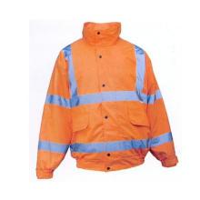 Orange Reflective Safety Coat, Meet En, Factoty in Ningbo, China
