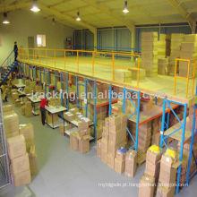 China fabricante Jracking revestimento em pó de aço mezanino / plataforma