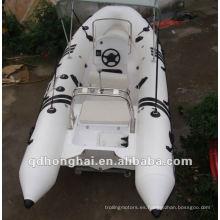 Barco inflable de barco superior rígido CE rib520
