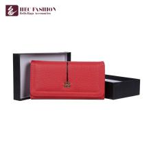 HEC Fabricant personnalisé porte-monnaie femme sac à main multi-couleur femme portefeuille