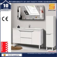48 '' personalizado estilo europeo gabinete de baño de venta caliente con piernas