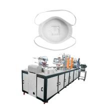 Válvula de exhalación desechable activada N95 Cup Máquina para fabricar mascarillas antipolvo
